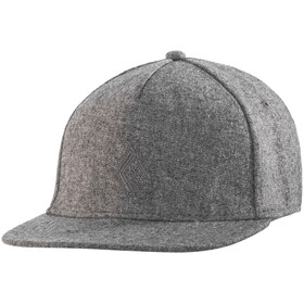 """Black Diamond Wool Trucker Hat Nickel"""